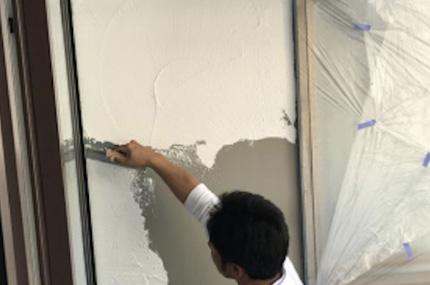 漆喰塗り仕上げの外壁 イメージ