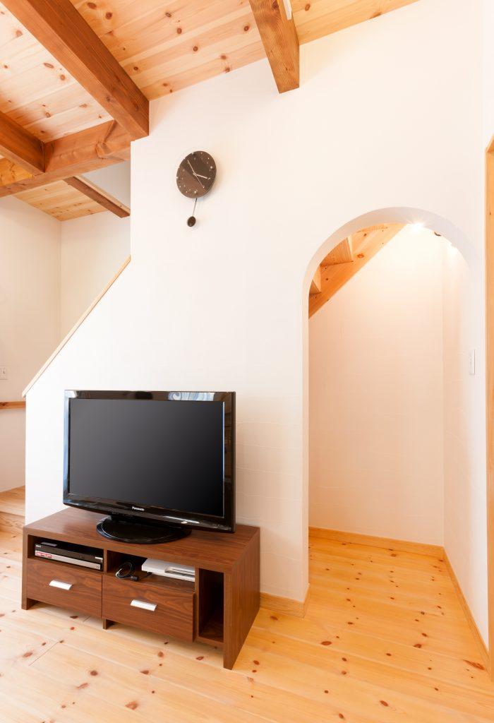 心地良く暮らしやすい空間の中 自然体で過ごせる家
